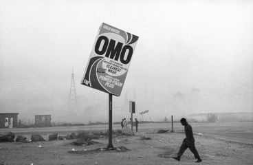 Santu Mofokeng, Winter in Tembisa, 1989, b&w photograph on Baryth paper photography, 100 x 150 cm, Courtesy carlier | gebauer